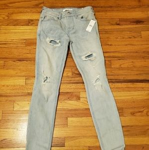 Other - PacSun Ripped Light Stacked Skinny Jeans